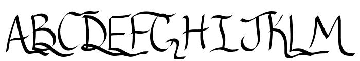 RibbonOfhope Font UPPERCASE