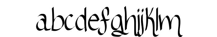 RibbonOfhope Font LOWERCASE