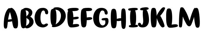 Ribeat Font UPPERCASE