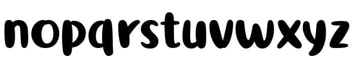 Ribeat Font LOWERCASE