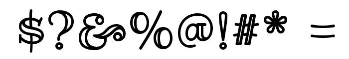RibeyeMarrow-Regular Font OTHER CHARS