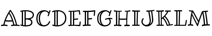 RibeyeMarrow-Regular Font UPPERCASE