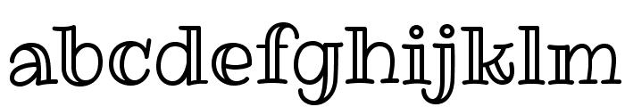 RibeyeMarrow-Regular Font LOWERCASE