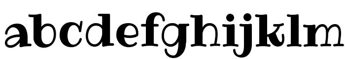 Ribeye Font LOWERCASE