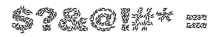 Ricecakes Font OTHER CHARS