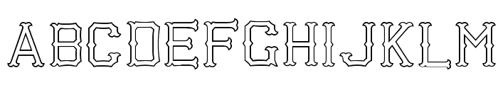 Richardson Fancy Block Font UPPERCASE
