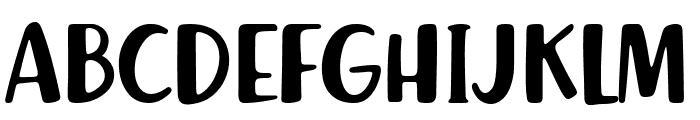 Richela Kids Font UPPERCASE
