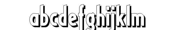 RicksAmericanNF Font LOWERCASE