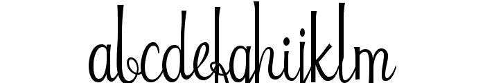 Riddle Font UPPERCASE