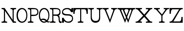 Rider Tall Ultra-condensed Light Font UPPERCASE