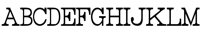 Rider Tall Ultra-condensed Light Font LOWERCASE