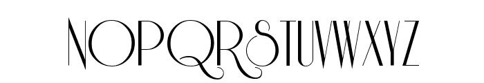Riesling Font UPPERCASE