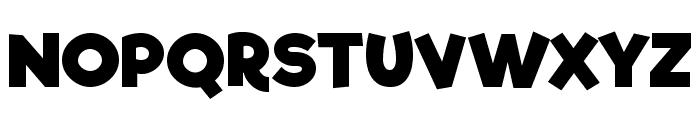 Riffic Font UPPERCASE