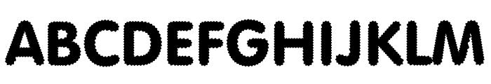 Riggle Font UPPERCASE