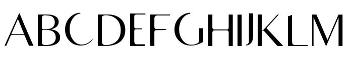 RighOn Light Font UPPERCASE