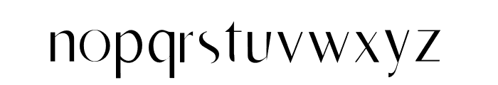 RighOn Light Font LOWERCASE