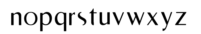 RighOn Font LOWERCASE