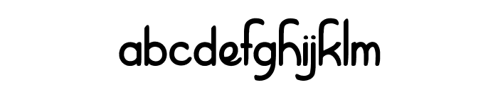 Right Balance Font LOWERCASE