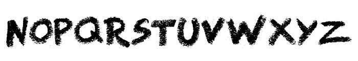 Right Chalk Font UPPERCASE