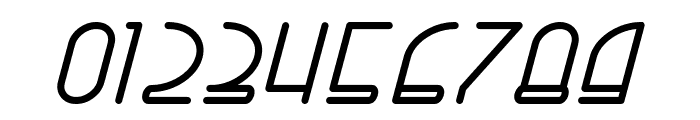Right Hand Bold Italic Font OTHER CHARS
