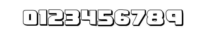 Right Hand Luke 3D Font OTHER CHARS
