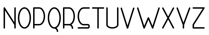 Right Hand Font LOWERCASE
