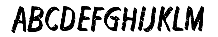 Right to remain silent Font UPPERCASE