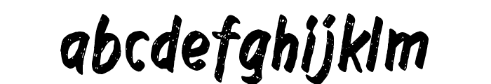Right to remain silent Font LOWERCASE