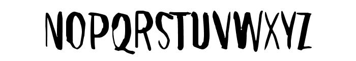 Right where it belongs Font UPPERCASE