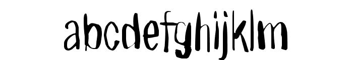 Right where it belongs Font LOWERCASE