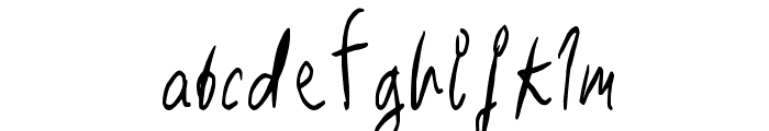 RightPlace Font LOWERCASE