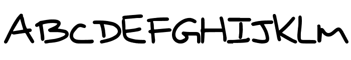 RightPrice Font LOWERCASE