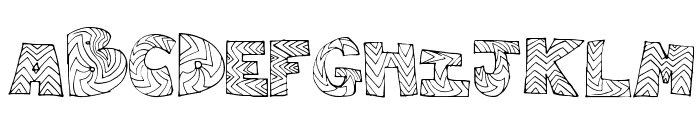 RightWay Font UPPERCASE