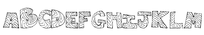 RightWay Font LOWERCASE