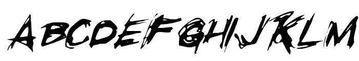 Righteous Kill Italic Font UPPERCASE
