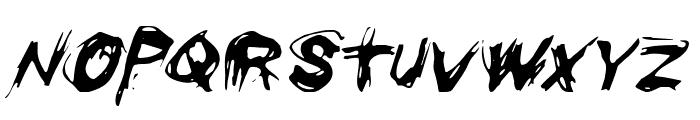 Righteous Kill Italic Font LOWERCASE