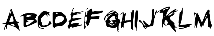 Righteous Kill Font LOWERCASE