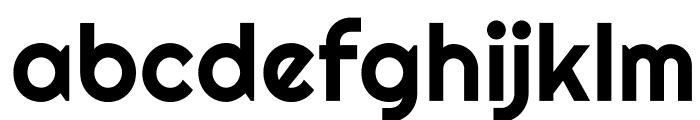 Righteous-Regular Font LOWERCASE