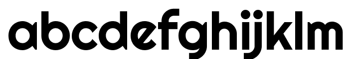 Righteous Font LOWERCASE