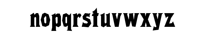 RikyTiky Normal Font LOWERCASE