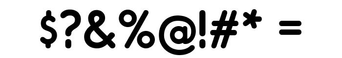 RimouskiSb-Regular Font OTHER CHARS