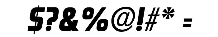 Rinehart Bold-Oblique Font OTHER CHARS