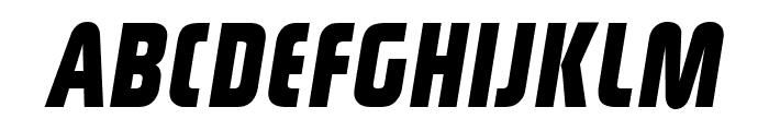 Rinehart Bold-Oblique Font UPPERCASE