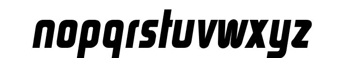 Rinehart Bold-Oblique Font LOWERCASE