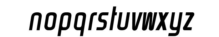 Rinehart Oblique Font LOWERCASE