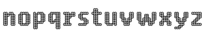 Ring Matrix Two Font LOWERCASE
