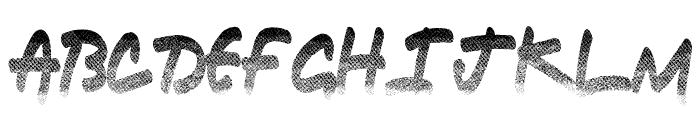 Ringlead Font UPPERCASE