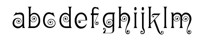Ringlet Font LOWERCASE