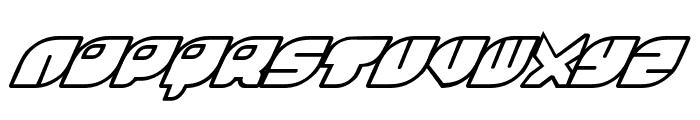 Rinosaur Font UPPERCASE