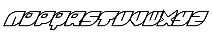 Rinosaur Font LOWERCASE